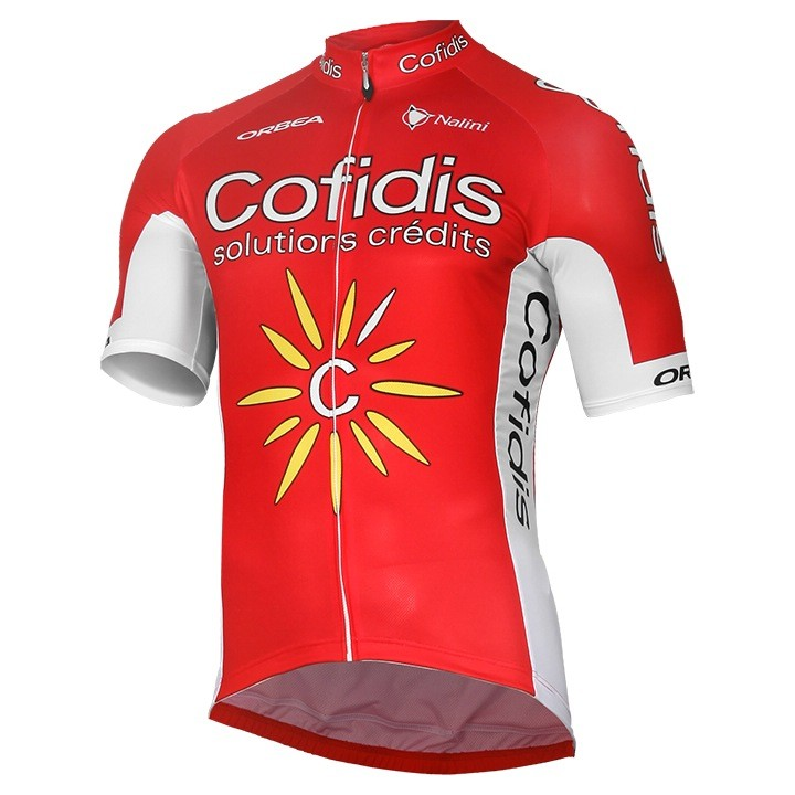 2017 Maillot manches courtes COFIDIS SOLUTIONS CREDITS