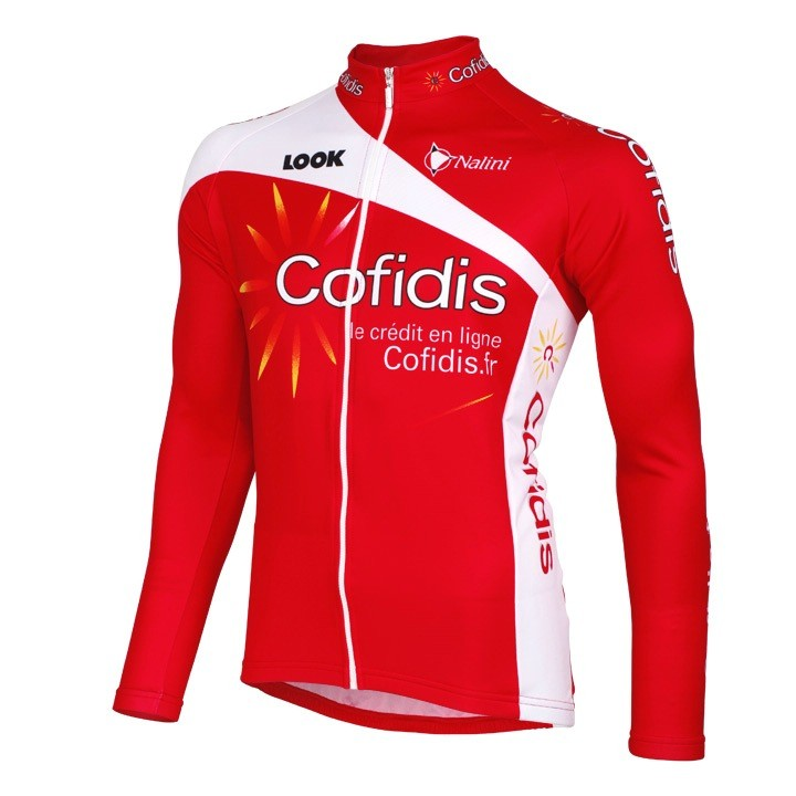 2012 Maillot manches longues COFIDIS