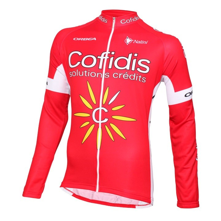 2016 Maillot manches longues COFIDIS