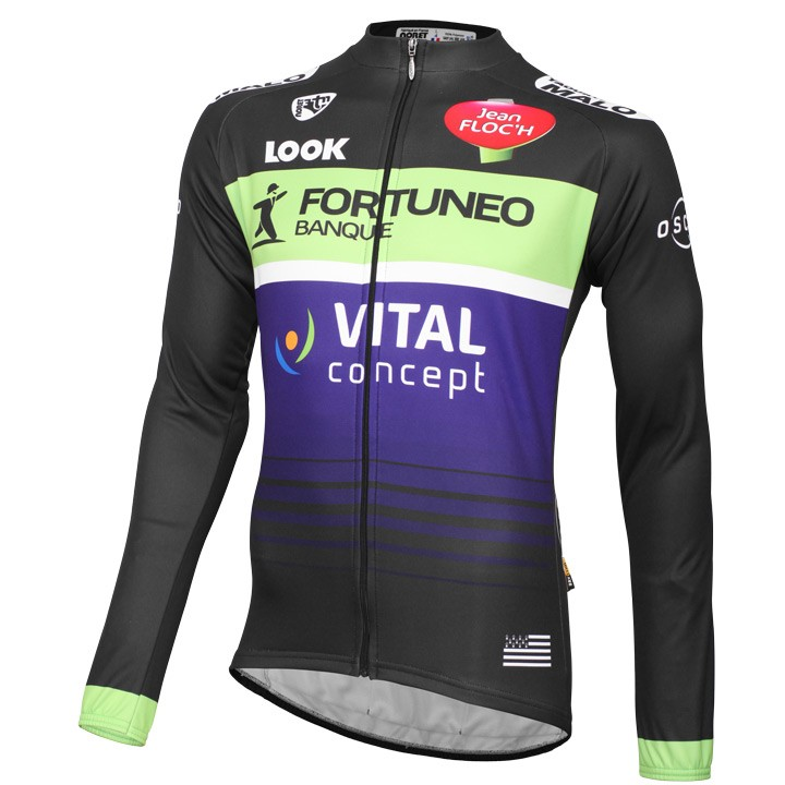 2016 FORTUNEO-VITAL CONCEPT Maillot manches longues