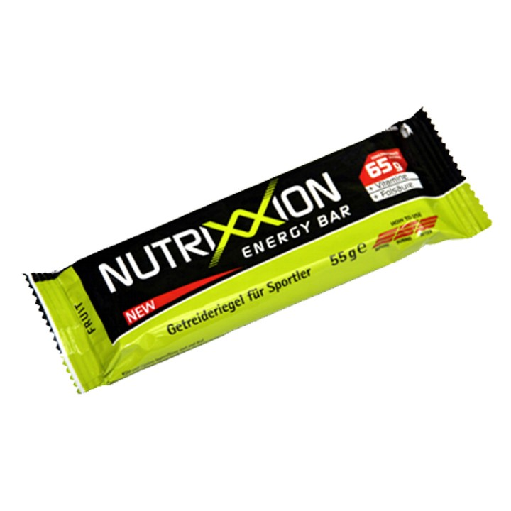 Barre Energy Bar Fruits. 25 unités/carton