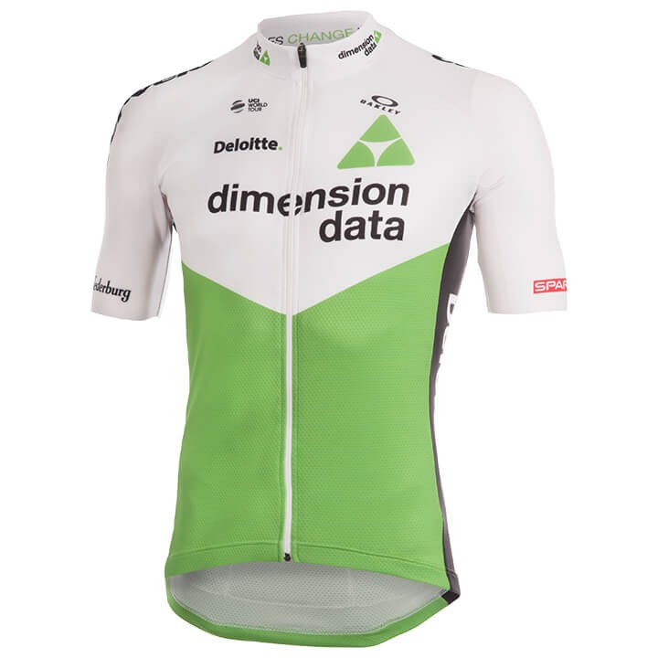 2018 Maillot manches courtes TEAM DIMENSION DATA