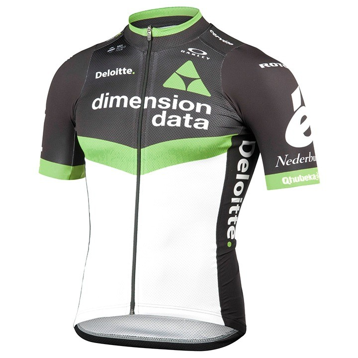 2017 Maillot manches courtes TEAM DIMENSION DATA FOR QHUBEKA Race