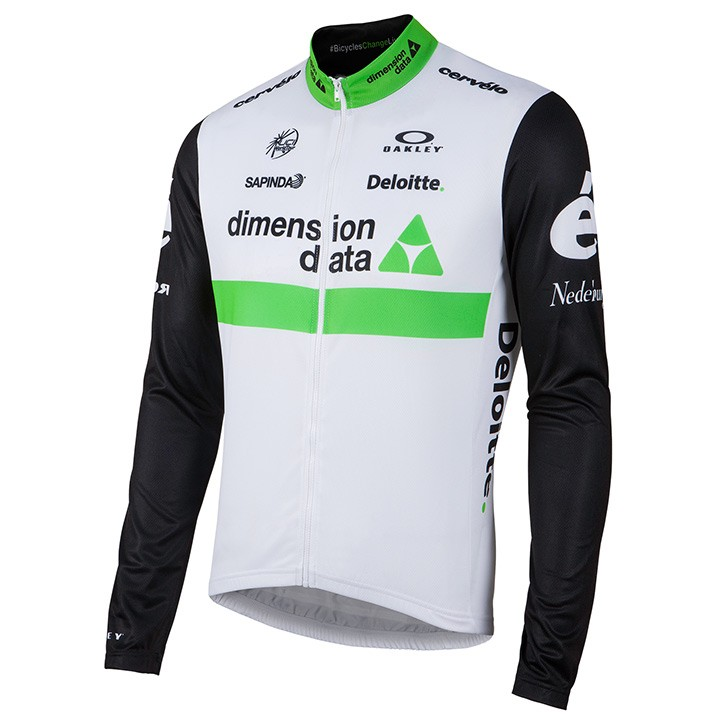 2016 Maillot manches longues TEAM DIMENSION DATA