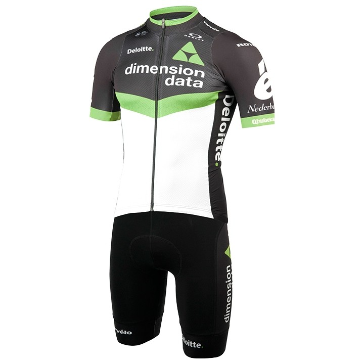 2017 Set (2 pièces) DIMENSION DATA FOR QHUBEKA Race