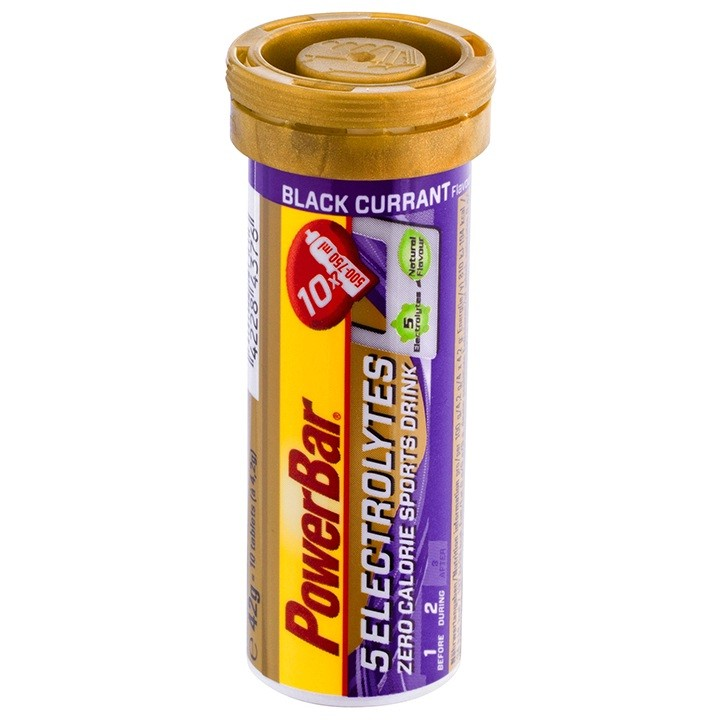Comprimés effervescents 5Electrolytes Black Current