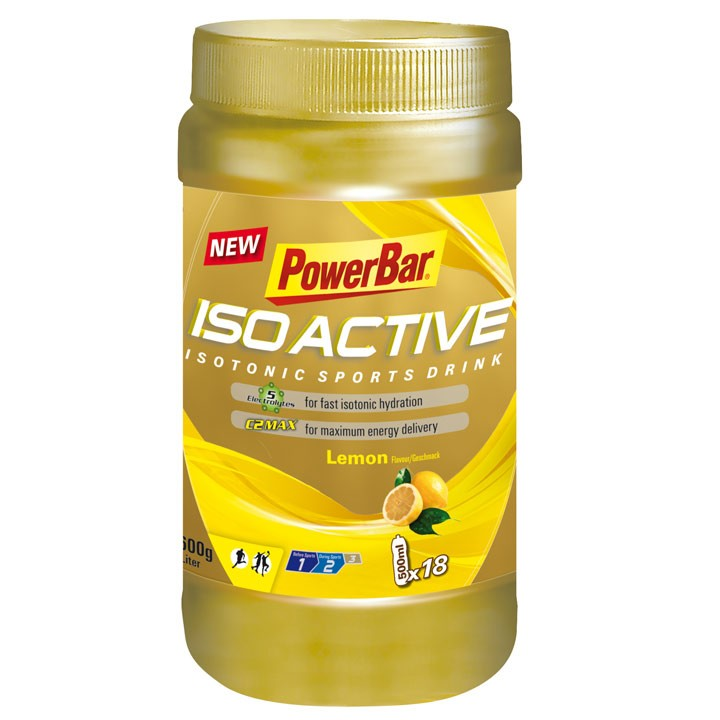 Isoactive-Isotonic Sports Drink Lemon Boîte de 600g