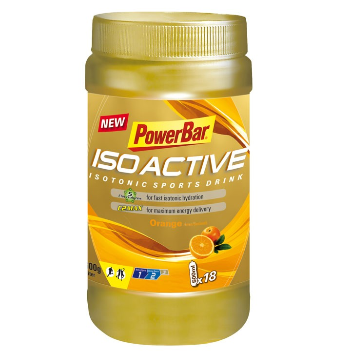Isoactive-Isotonic Sports Drink Orange 600 gr