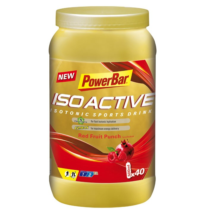 Isoactive-Isotonic Sports Drink Red Fruit 1320 gr
