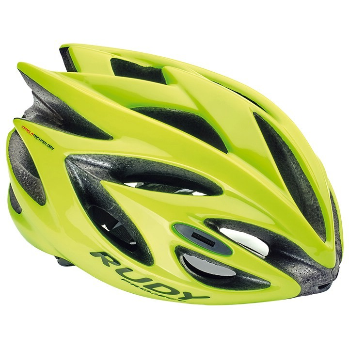 2018 Casque de cyclisme RUDY PROJECT Rush yellow fluo shiny