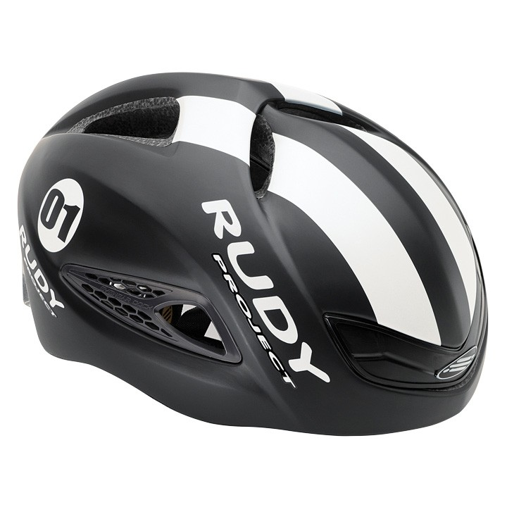 2018 Casque route RUDY PROJECT Boost 01 black-white mat