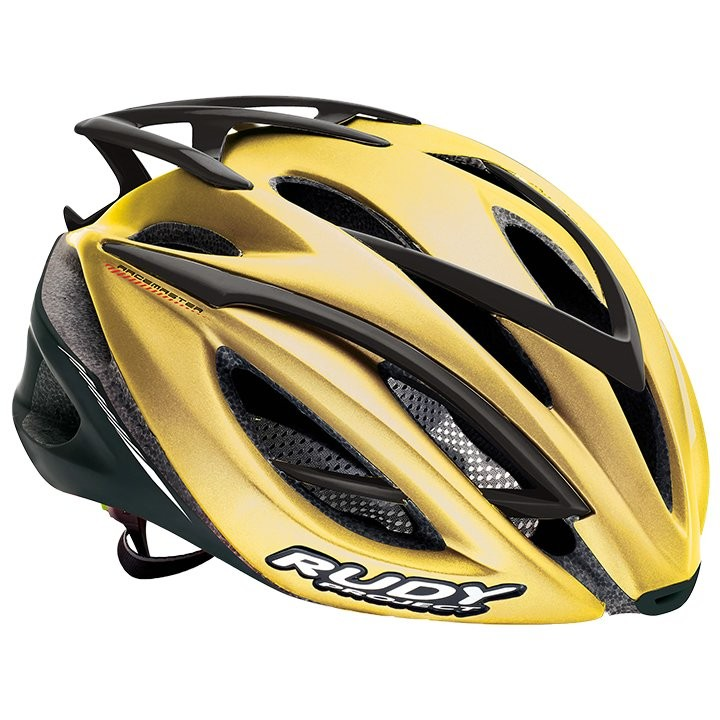 2017 Casque route RUDY PROJECT Racemaster gold