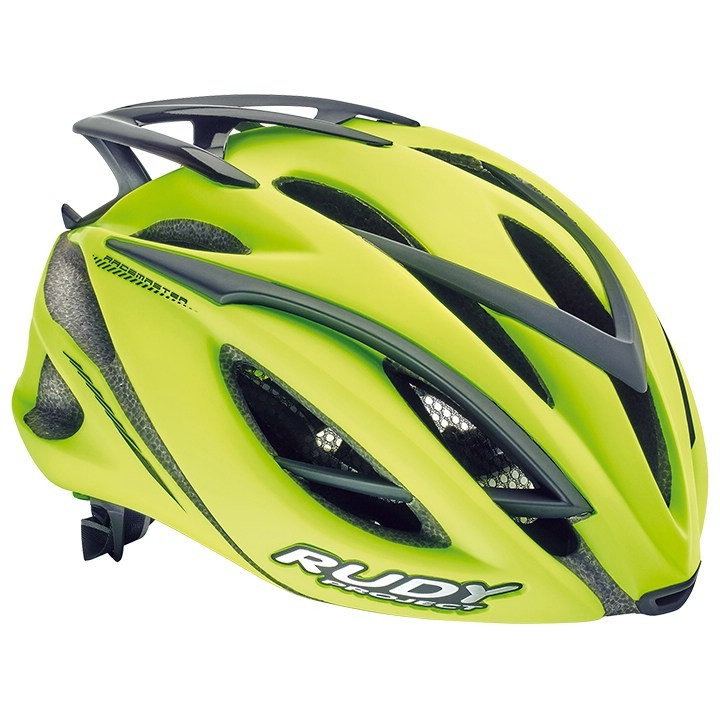 2018 Casque route RUDY PROJECT Racemaster yellow fluo matte