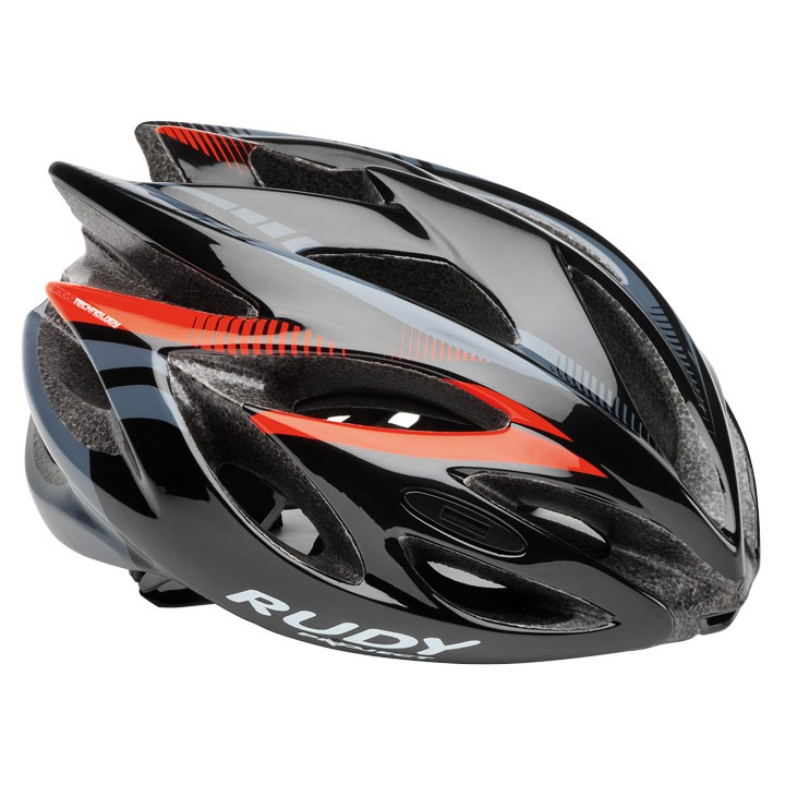 2018 Casque RUDY PROJECT Rush black-red fluo shiny