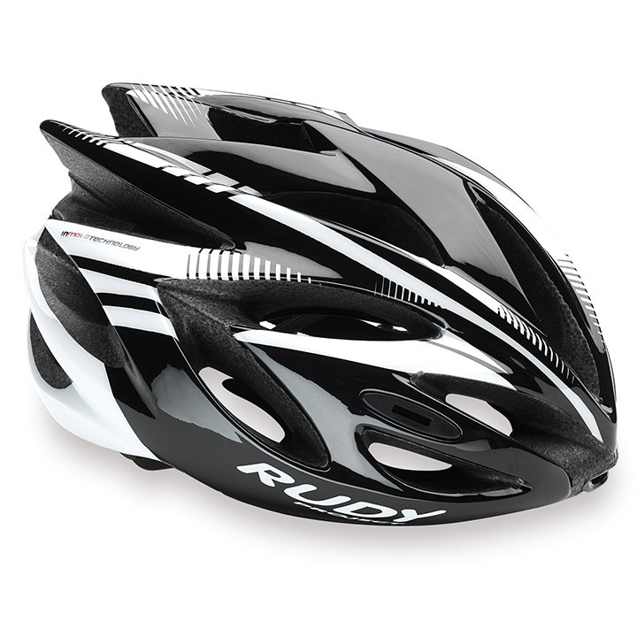 2018 Casque RUDY PROJECT Rush black-white shiny