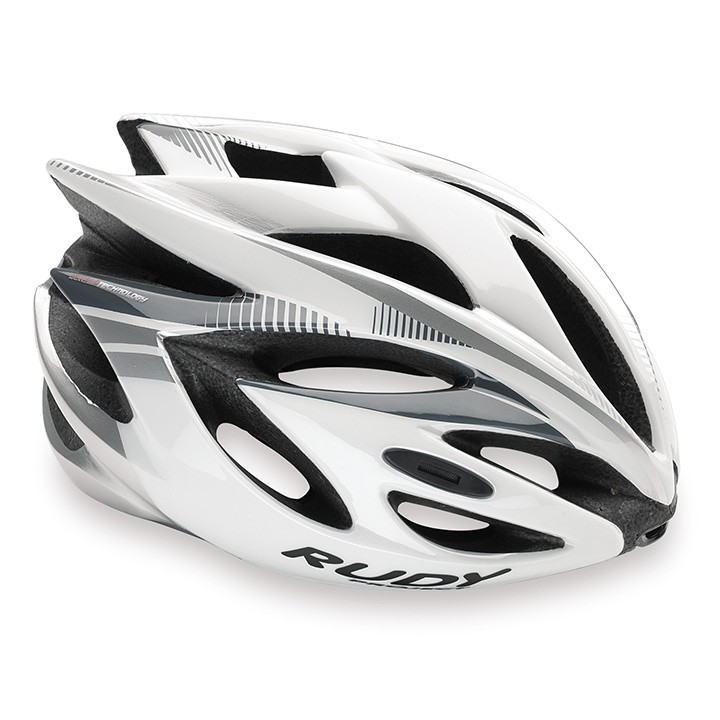 2018 Casque RUDY PROJECT Rush white-silver shiny