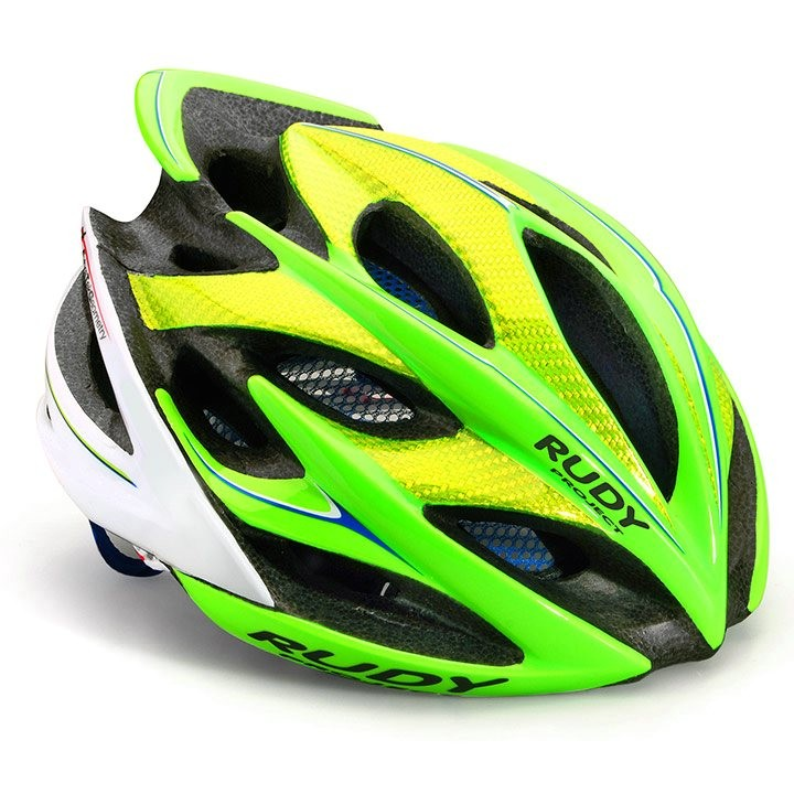 2018 Casque RUDY PROJECT Windmax lime fluo-blue
