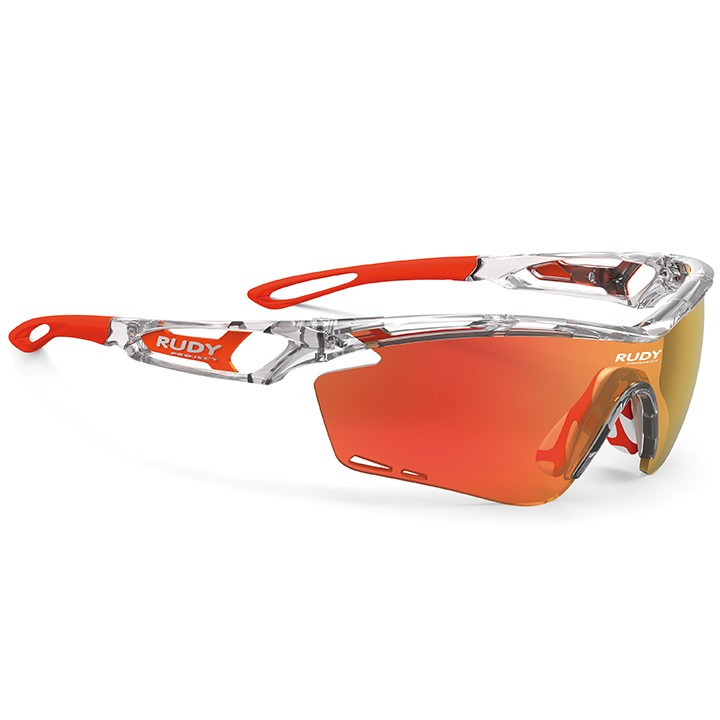 2017 Lunettes de cyclisme Tralyx crystal gloss