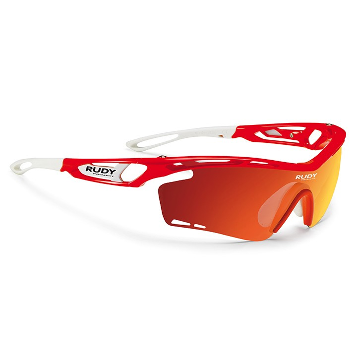 2018 Lunettes de cyclisme Tralyx red fluo gloss
