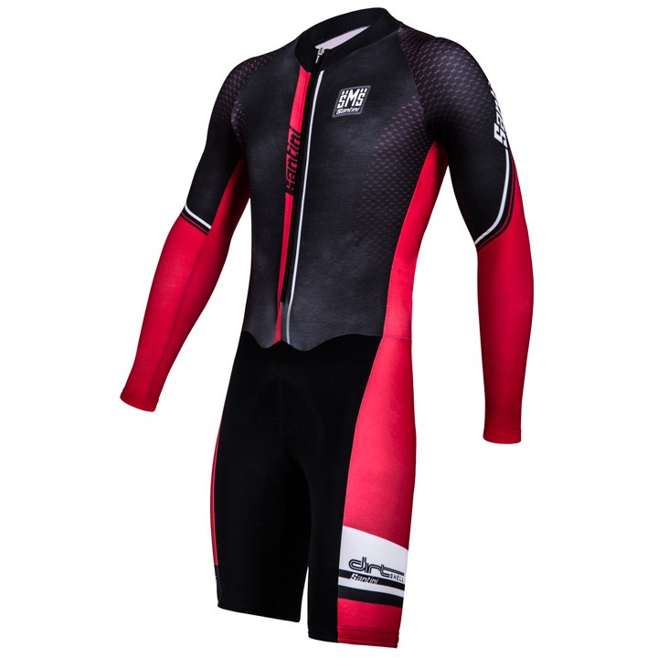Body cyclocross SANTINI Dirtshell noir-rouge