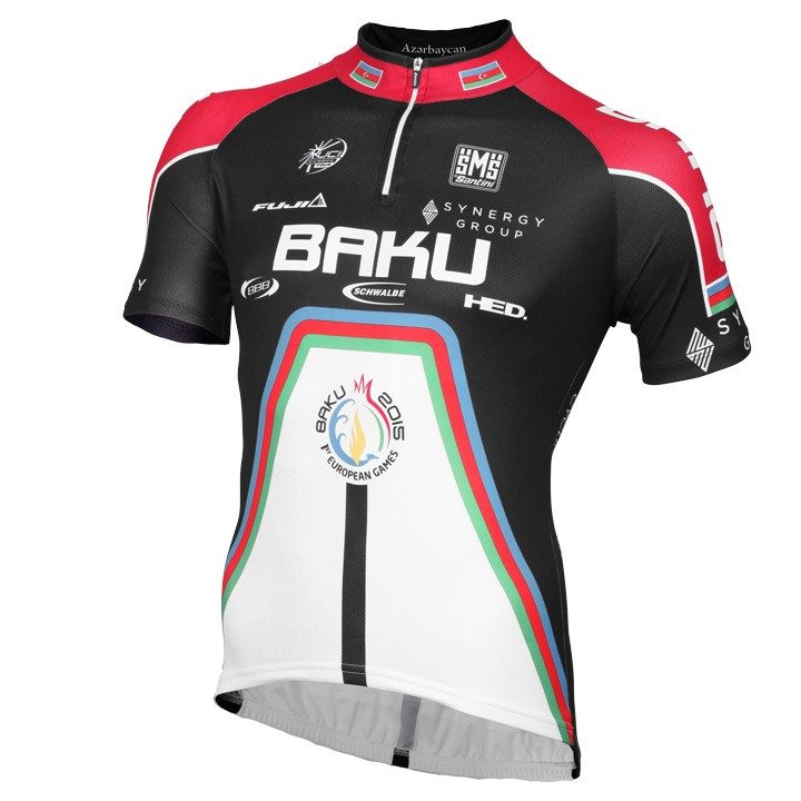 2015 Maillot manches courtes BAKU CYCLING PROJECT