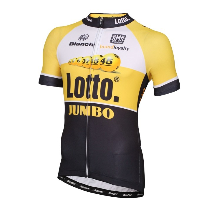 2015 Maillot manches courtes LOTTO NL-JUMBO