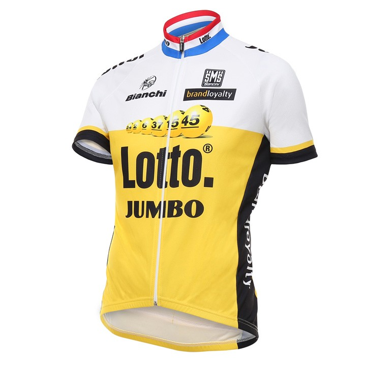 2016 Maillot manches courtes LOTTO NL-JUMBO
