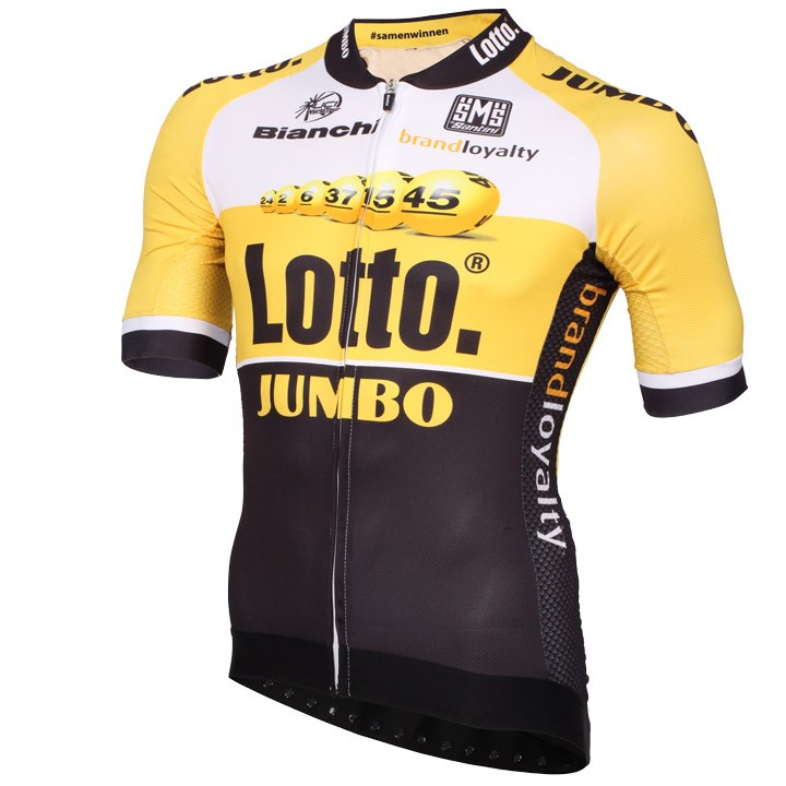 2015 Maillot manches courtes LOTTO NL-JUMBO Aero Race