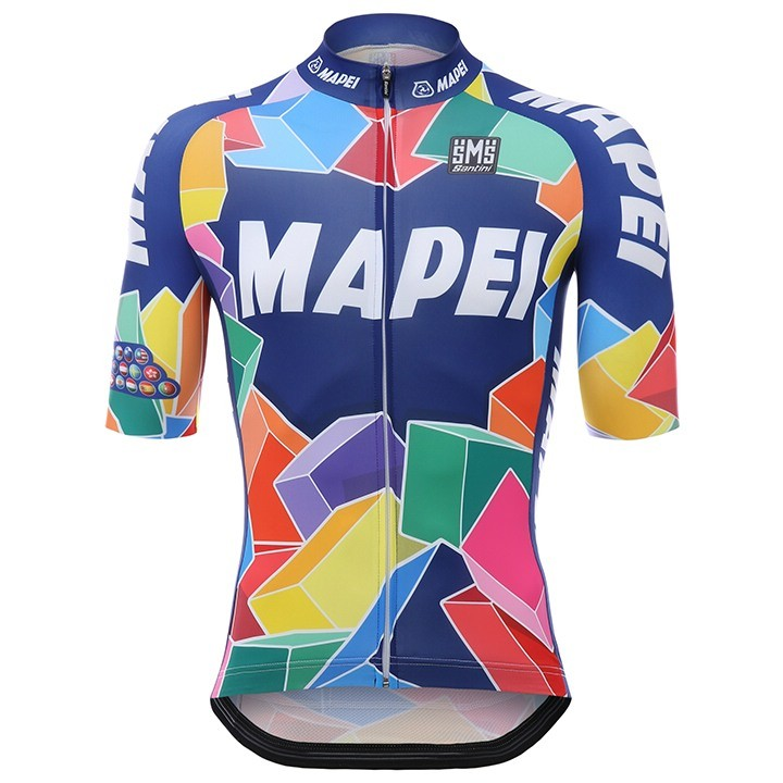2017 Maillot manches courtes MAPEI CYCLING