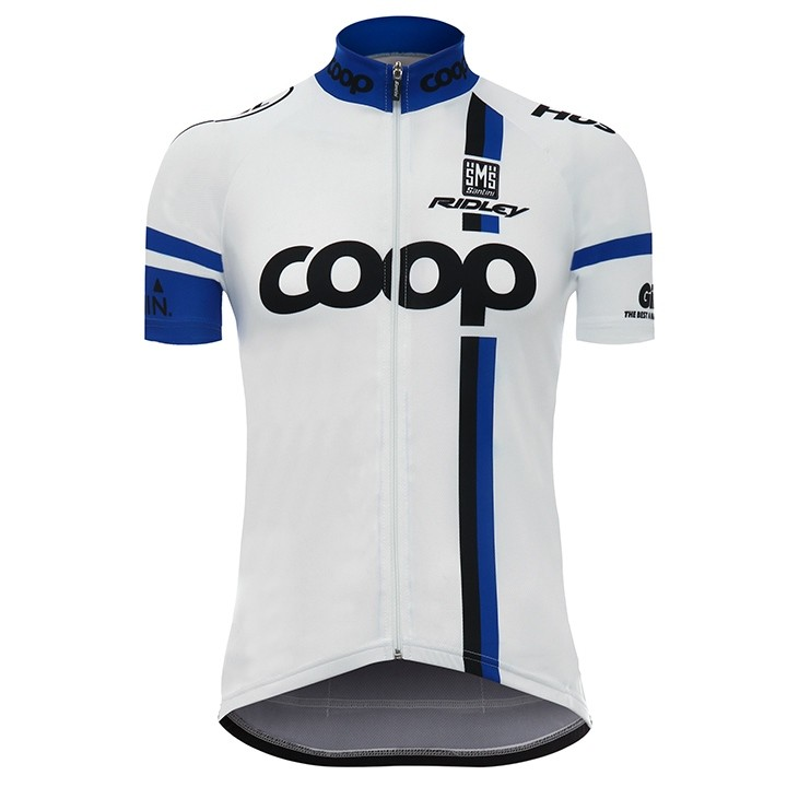 2017 Maillot manches courtes TEAM COOP