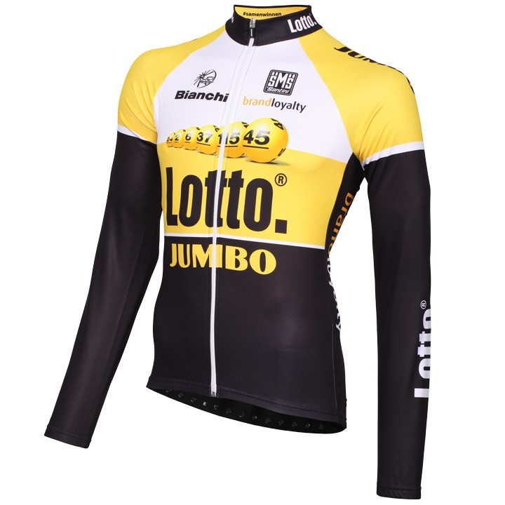 2015 Maillot manches longues LOTTO NL-JUMBO