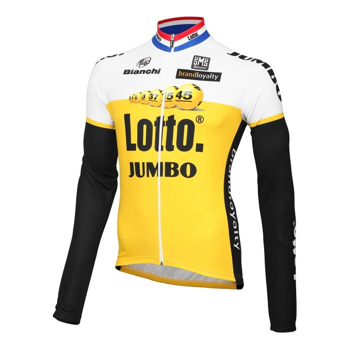 2016 Maillot manches longues LOTTO NL-JUMBO