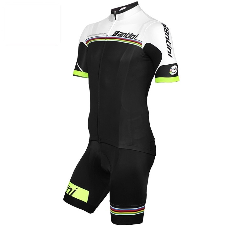 2017 Set (2 pièces) UCI WORLD CHAMPION LEADER Rainbow Line