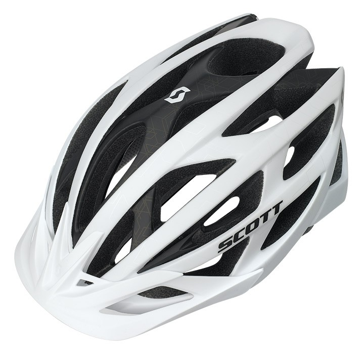 Casque VTT SCOTT Wit blanc mat