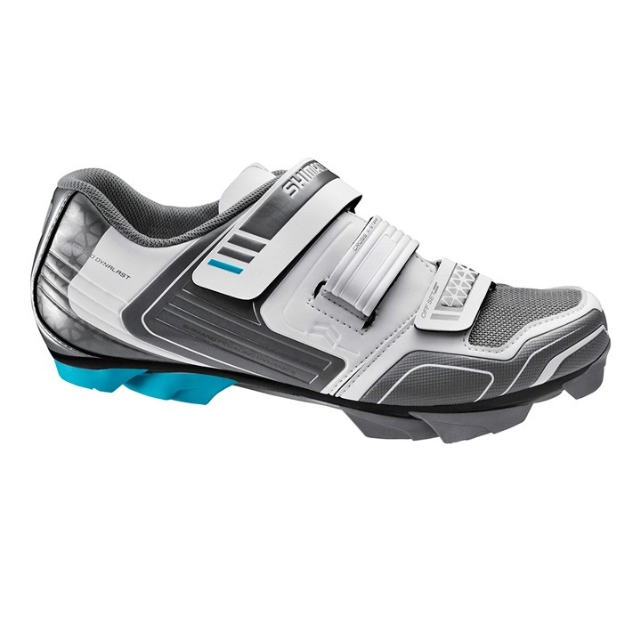 Chaussures VTT femme SHIMANO SH-WM53 blanches-anthracite