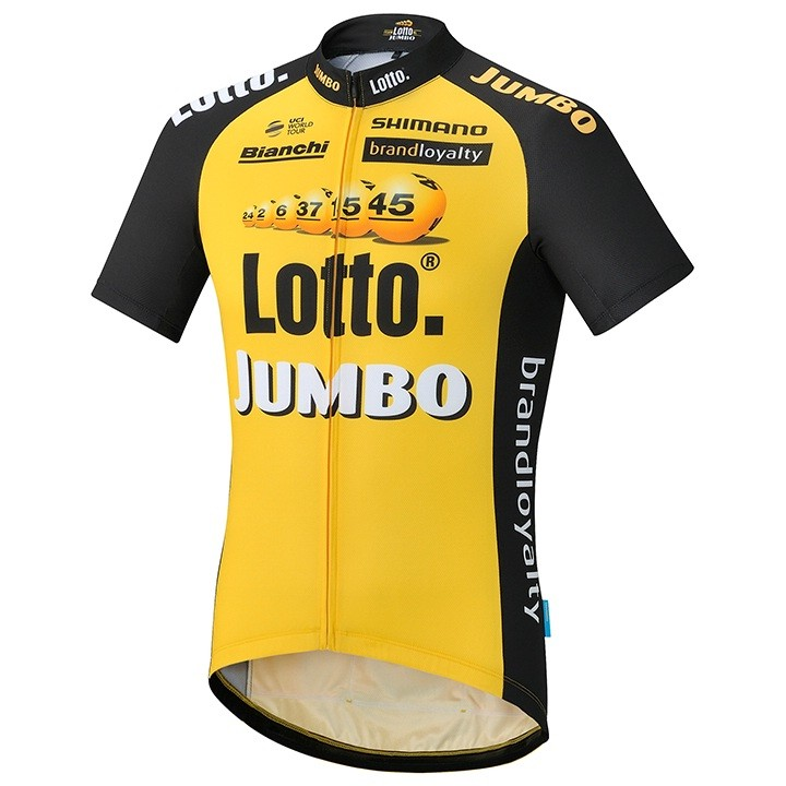 2017 Maillot manches courtes LOTTO NL-JUMBO