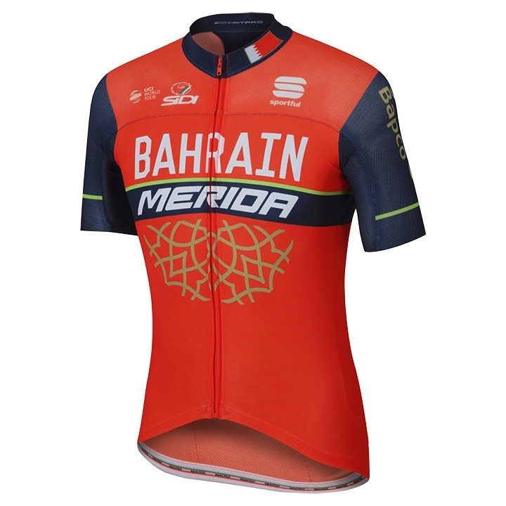 2017 Maillot manches courtes Pro Race BAHRAIN MERIDA