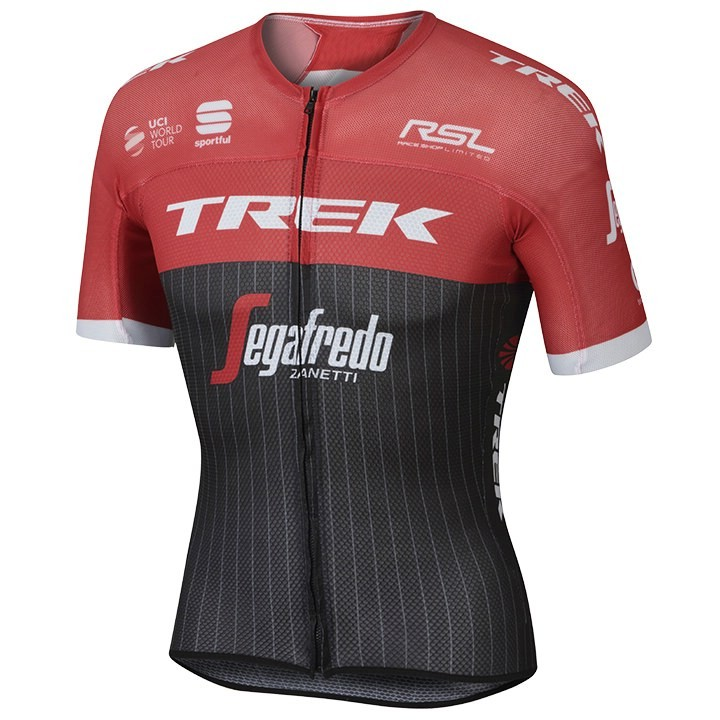 2017 Maillot manches courtes Pro Race Ultralight TREK-SEGAFREDO