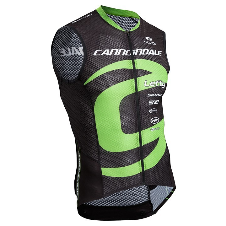 2017 Maillot sans manches CANNONDALE FACTORY RACING XC