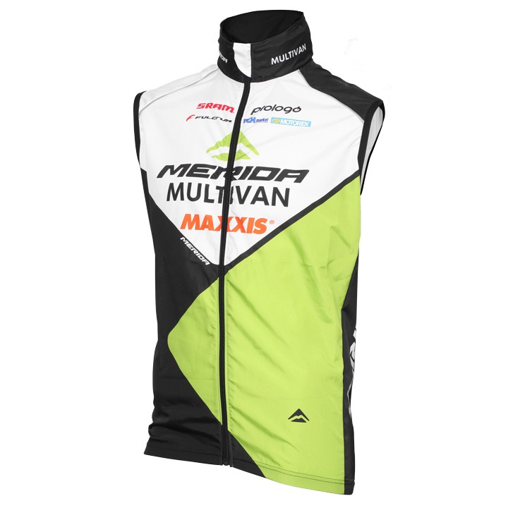 2016 Gilet coupe-vent MULTIVAN MERIDA BIKING TEAM