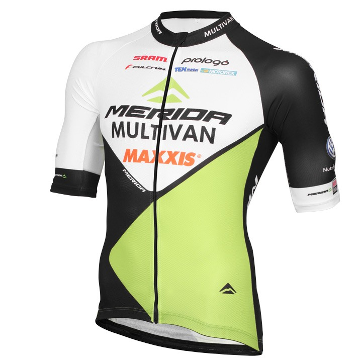 2016 Maillot manches courtes MULTIVAN MERIDA BIKING TEAM