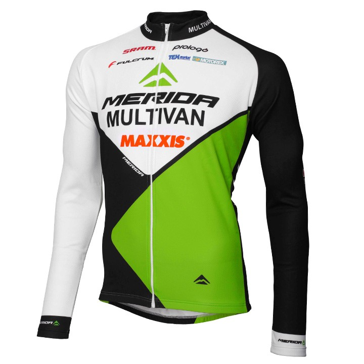2015 Maillot manches longues MULTIVAN MERIDA BIKING TEAM