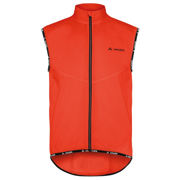 Gilet coupe-vent VAUDE Air II orange