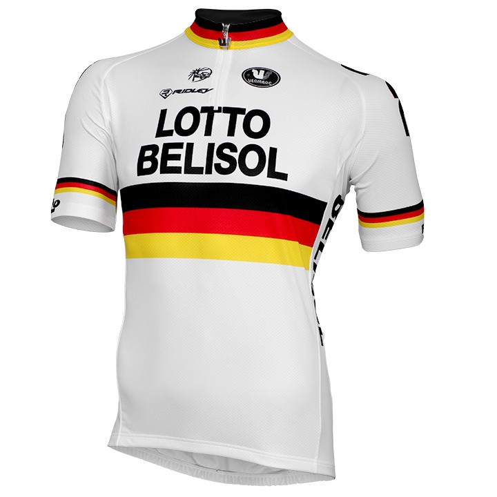 2015 Maillot manches courtes LOTTO BELISOL Champion allemand