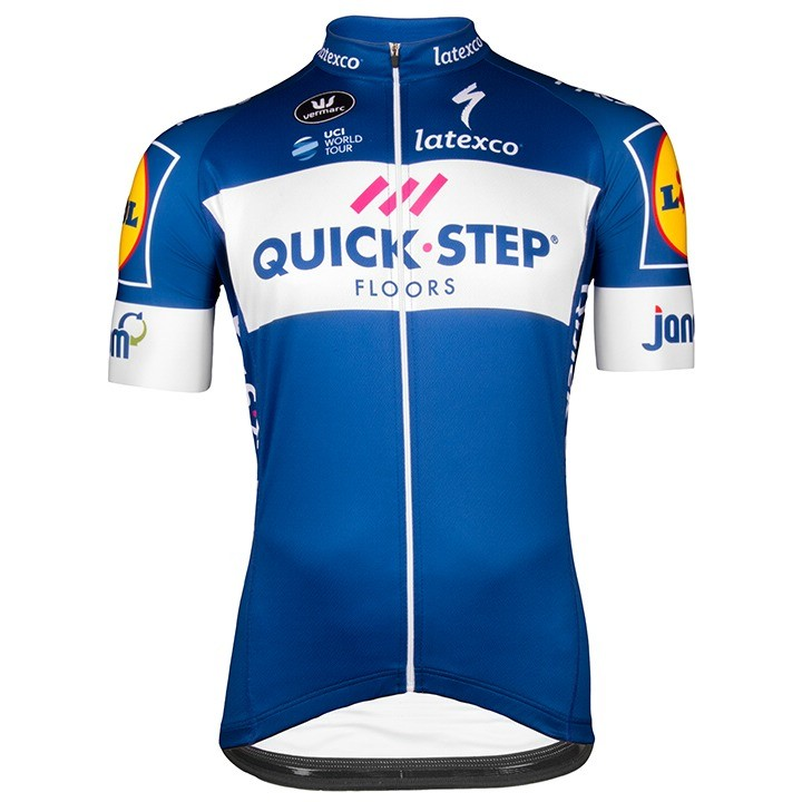 2018 Maillot manches courtes QUICK- STEP FLOORS Aero
