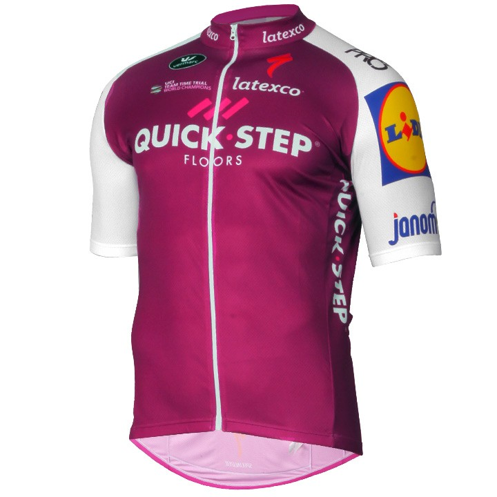 2017 Maillot manches courtes QUICK-STEP FLOORS Limited Edition