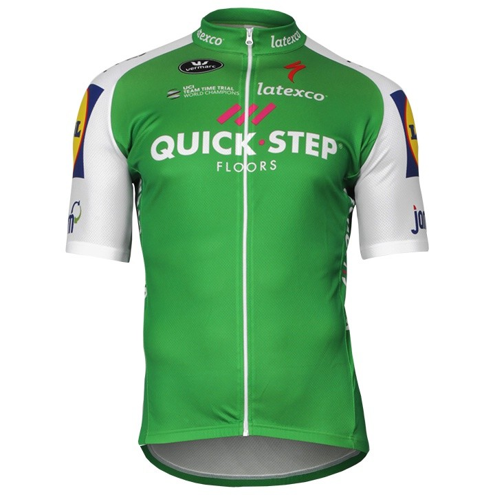 2017 Maillot manches courtes QUICK- STEP FLOORS Marcel Kittel TDF