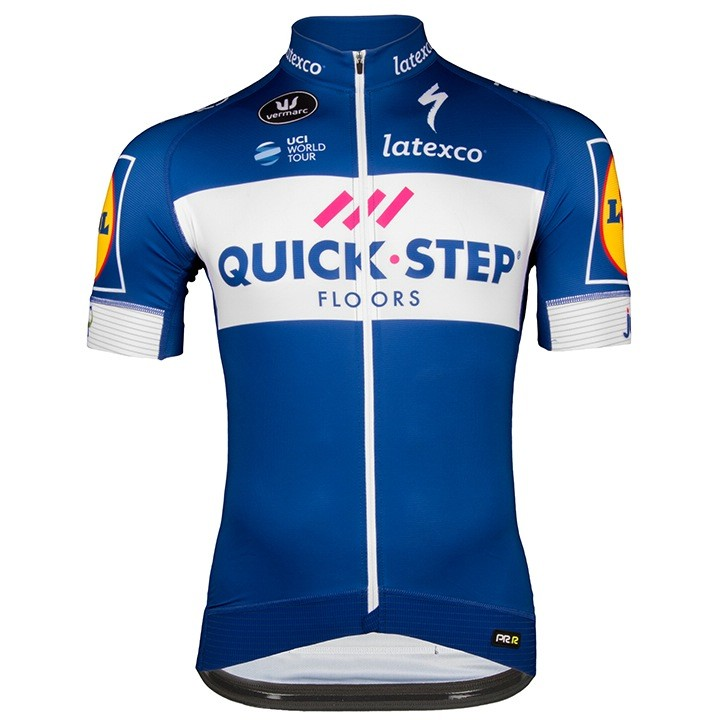 2018 Maillot manches courtes QUICK- STEP FLOORS PRR