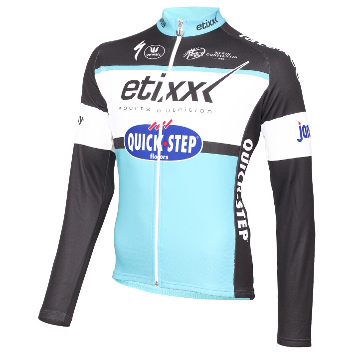 2015 Maillot manches longues ETIXX-QUICK STEP