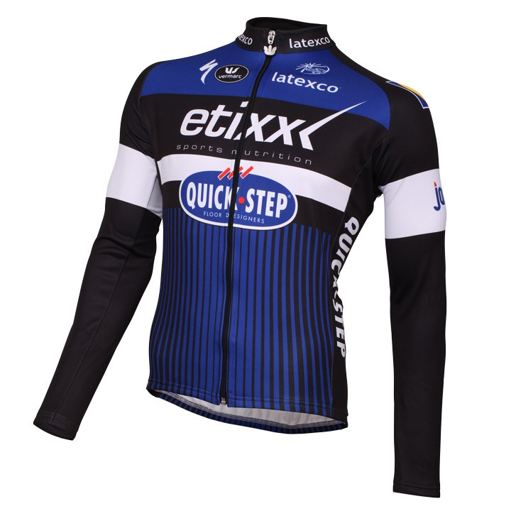 2016 Maillot manches longues ETIXX-QUICK STEP